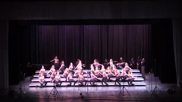 Homewood High Choir The Network Finals Performance at 2014 Southern Showcase in Opelika, AL