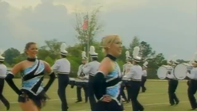 Moody High Band at 2012 Mid South MBF in Gadsden, Alabama