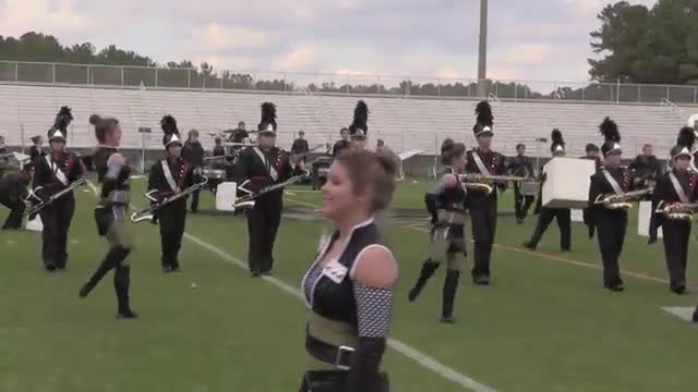 Oak Grove High Band at 2013 Hoover Invitational MBF in Hoover, Alabama