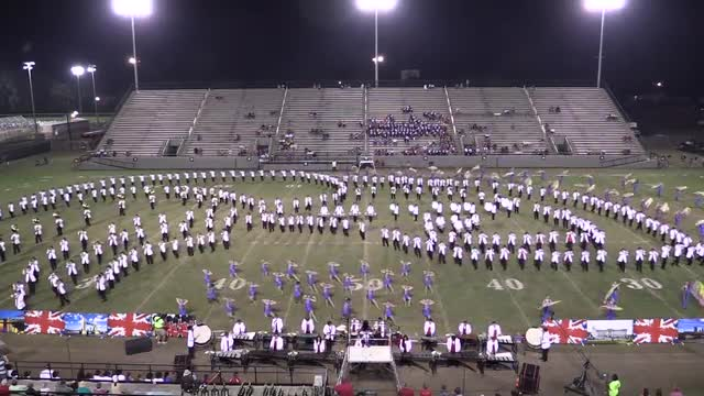 Lowndes High Band - Wide Angle ONLY - at 2013 Southern Showcase in Dothan