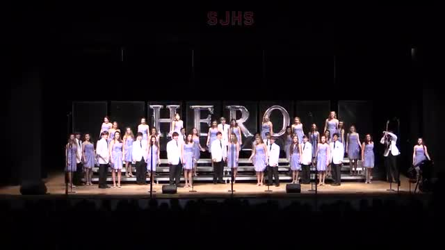 Jackson Prep Choir - Fusion Performance at 2014 South Jones Show Choir in Ellisville, MS