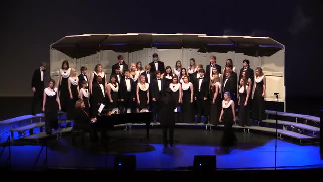 Vestavia High Choir Performance at 2014 AMEA in Montgomery, Al