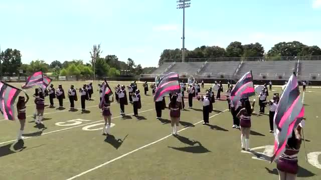 Anniston High Band at 2013 Mid South MBF in Gadsden, Alabama