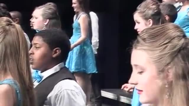 Opelika Middle Choir-Imaginations-Performance at 2013 Diamond Classic in Albertville, AL