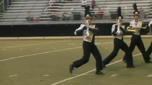 Scottsboro High Band at 2012 Mid South MBF in Gadsden, Alabama