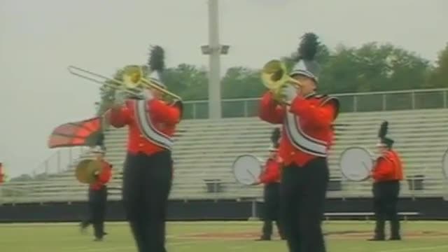 Fyffe High Band at 2012 Mid South MBF in Gadsden, Alabama