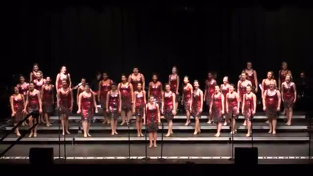 Tarpon Springs High Choir- Sophisticated Ladies  Performance at 2014 South Central Classic in Homewood, AL