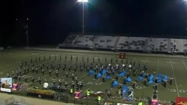 Northwest Whitfield High Band at 2012 Mid South MBF in Gadsden, Alabama