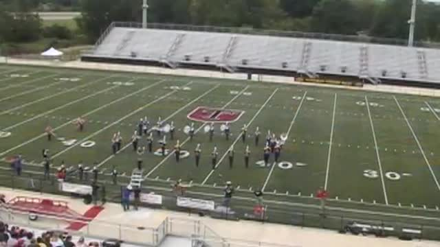 Falkville High Band at 2008 Mid South MBF in Gadsden, Alabama