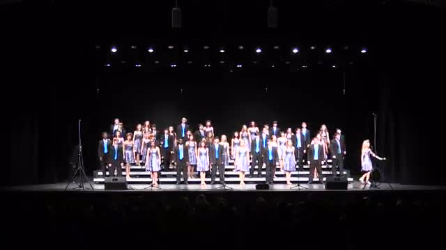 Appling County High Choir Applause Performance at 2014 Diamond Classic in Albertville, AL