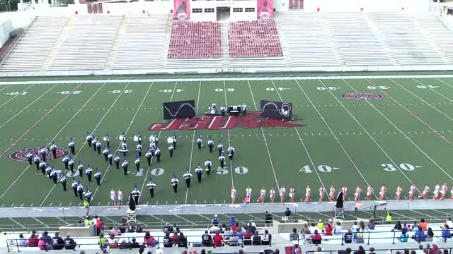 Breman High Band at 2013 JSU Contest of Champions MBF in Jacksonville, Alabama
