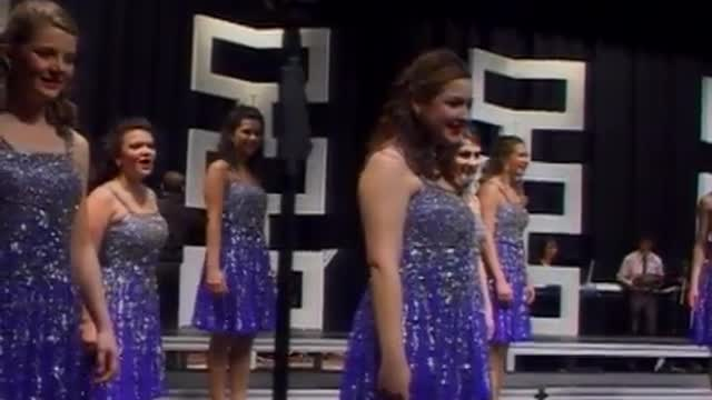 West Jones High Choir -Revolution-Performance at 2013 South Central Classic in Homewood, AL