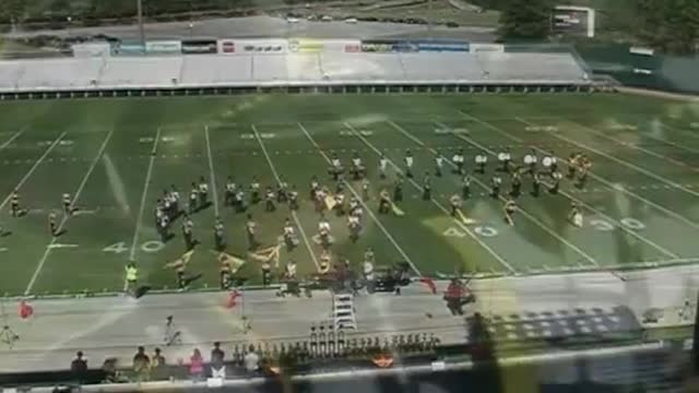 Corner High Band at 2012 Hoover Invitational MBF in Hoover, Alabama