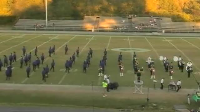 JU Blacksher High Band at 2012 West Alabama MBF in Gordo, Alabama