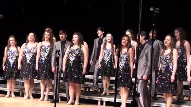 Sumrall High Choir - Legacy Performance at 2014 South Jones Show Choir in Ellisville, MS