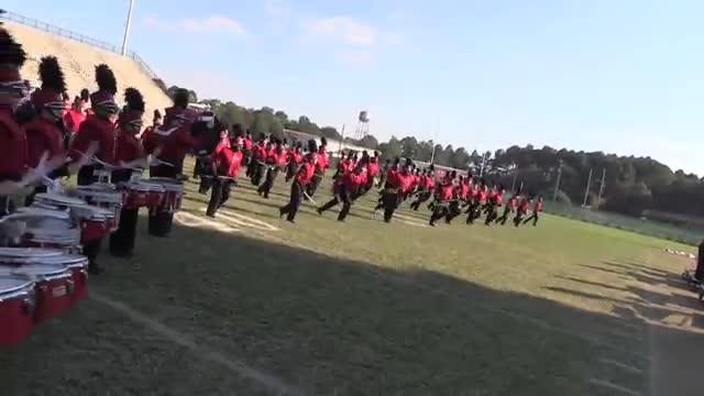 Dothan High Band at 2013 Southern Showcase in Dothan