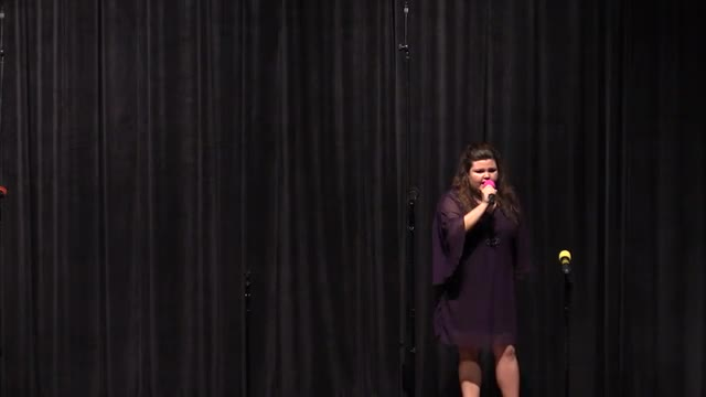 Solo Performance at 2014 West Jones Show Choir in Laurel, MS