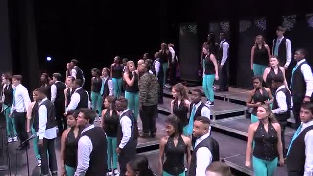 Opelika High Choir Ovations Performance at 2014 Southern Showcase in Opelika, AL