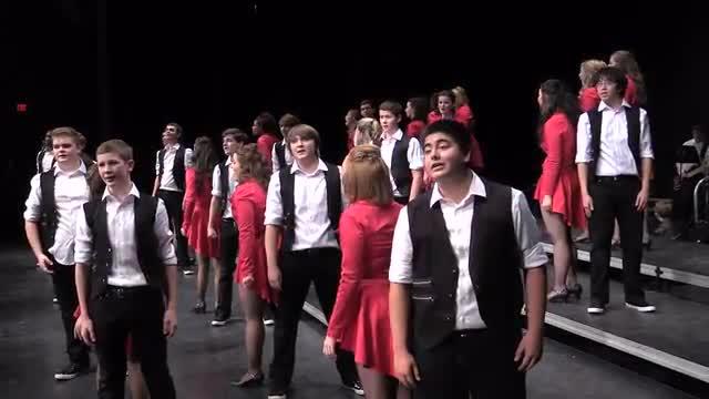 Lakeside High Choir Soundsations Performance at 2014 Diamond Classic in Albertville, AL