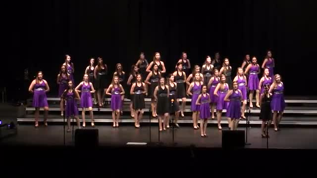 Oak Mountain High Choir-Showcase Performance at 2014 South Central Classic in Homewood, AL