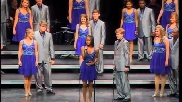 Opelika High Choir -Ovations- Exhibition Performance at 2012 Southern Showcase in Opelika, AL