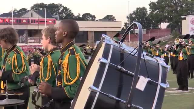 Pelham High Band at 2013 JSU Contest of Champions MBF in Jacksonville, Alabama