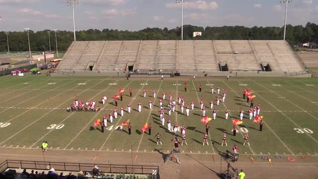 Eufaula High Band - Wide Angle ONLY - at 2013 Southern Showcase in Dothan