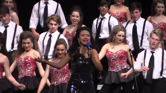 Homewood High Choir The Network Finals Performance at 2014 Diamond Classic in Albertville, AL