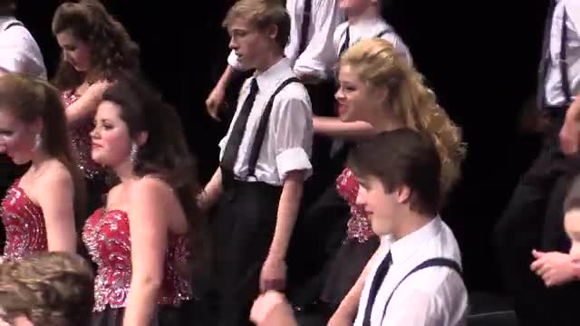 Homewood High Choir The Network Performance at 2014 Diamond Classic in Albertville, AL
