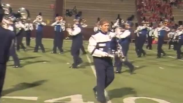 Baker High Band at 2012 Heart of Dixie MBF in Prattville, Alabama