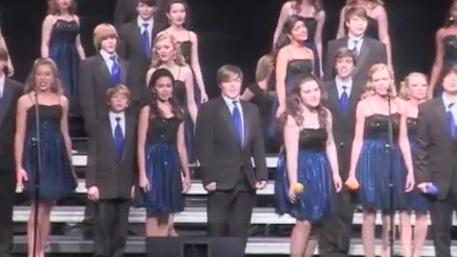 Enterprise High Choir -Expressions-Performance at 2013 Diamond Classic in Albertville, AL