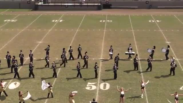 Excel High Band at 2013 Southern Showcase in Dothan
