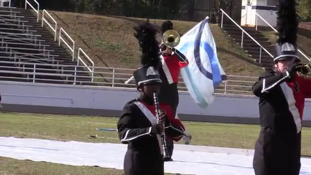 Pike County  High Band at 2013 Old South MBF in Newnan, Georgia