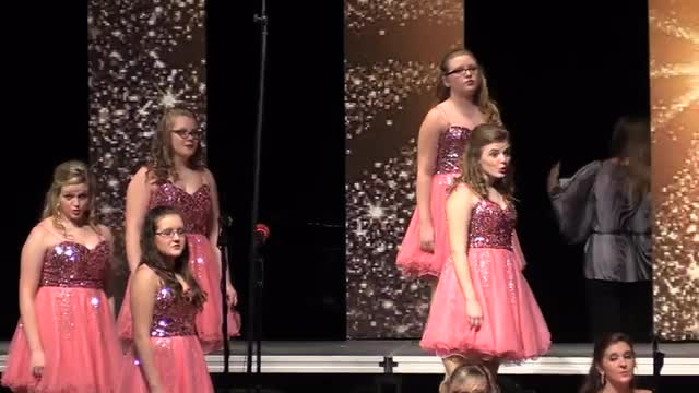 Columbia Academy High Choir - The Exclusives Performance at 2014 West Jones Show Choir in Laurel, MS
