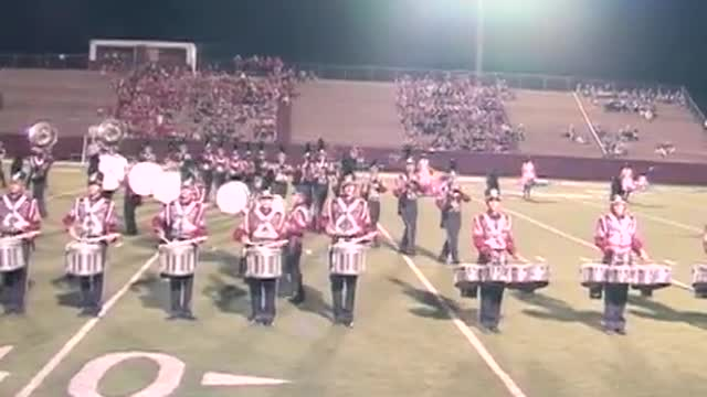 Oak Mountain High Band at 2012 Heart of Dixie MBF in Prattville, Alabama
