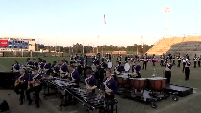 Daphne High Band at 2013 Southern Showcase in Dothan