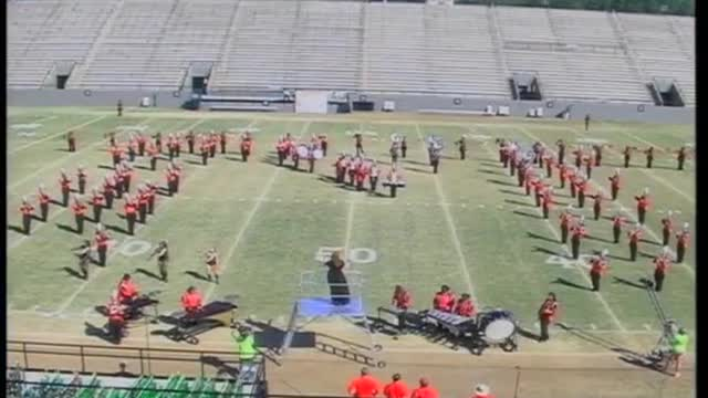 Central High Band at 2010 Southern Showcase MBF in Dothan, Alabama