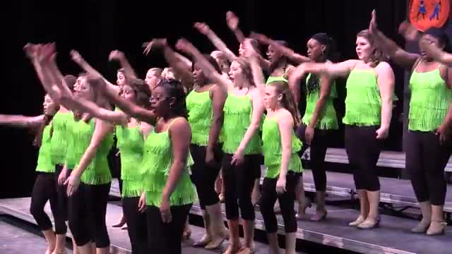 Tift County High Choir One Voice Performance at 2014 Southern Showcase in Opelika, AL