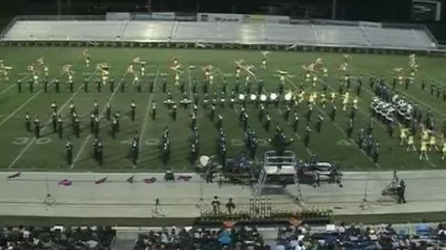 Enterprise High Band at 2012 Hoover Invitational MBF in Hoover, Alabama