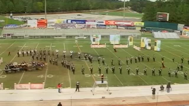 Oak Grove High Band at 2009 Hoover Invitational MBF in Hoover, Alabama