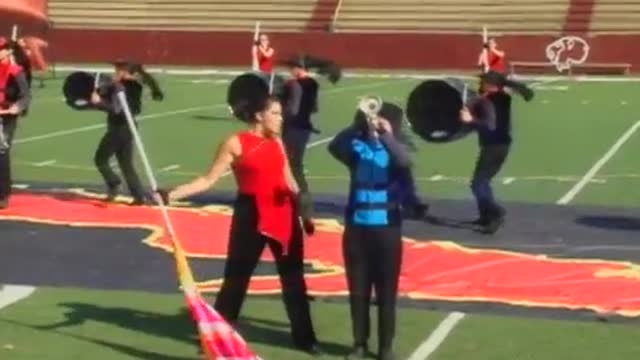 Spanish Fort High Band at 2012 Heart of Dixie MBF in Prattville, Alabama