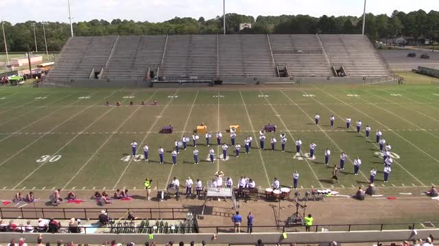 Rehobeth High Band  - Wide Angle ONLY - at 2013 Southern Showcase in Dothan