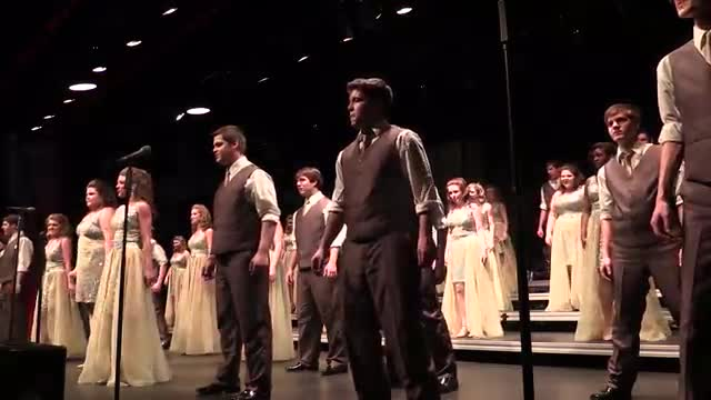 South Jones High Choir - Company Finals Performance at 2014 South Central Classic in Homewood, AL