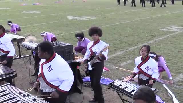 Rockdale County High Band at 2013 Old South MBF in Newnan, Georgia