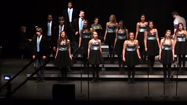 Homewood High Choir- The Associate Performance at 2014 South Central Classic in Homewood, AL
