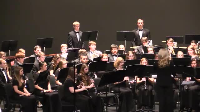Thompson High School Wind Ensemble Highlight Reel @ AMEA 2014 in Montgomery, Al