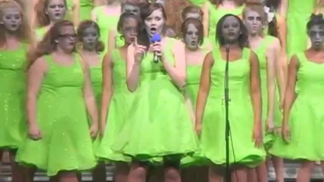 Helena Middle Choir-Music Machine-Performance at 2013 Diamond Classic in Albertville, AL