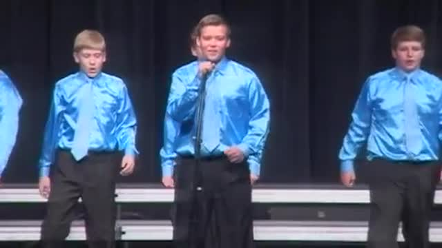 Boaz Middle Choir -Exclusive-Performance at 2013 Diamond Classic in Albertville, AL