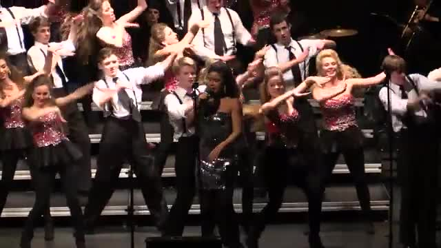 Homewood High Choir The Network Performance at 2014 South Central Classic in Homewood, AL