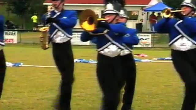 White Plains High Band at 2008 Dixie Jubilee MBF in Weaver, Alabama